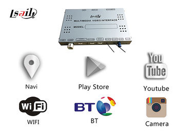 Multimedia Android Navigation Box Built - In WIFI With LVDS Digital Display